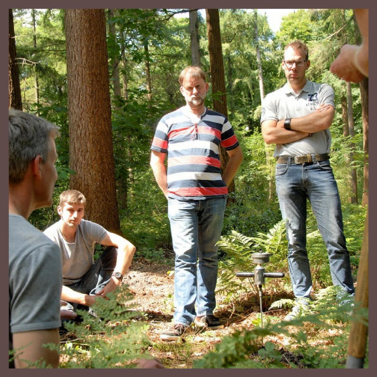 Mannen in bos